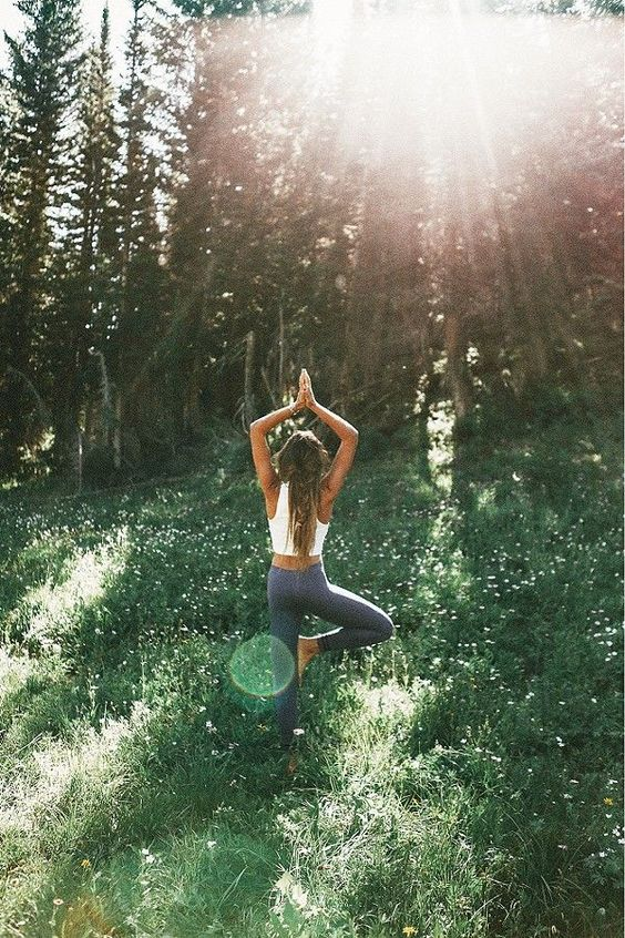 Get outside and breathe in the fresh air as you move your body