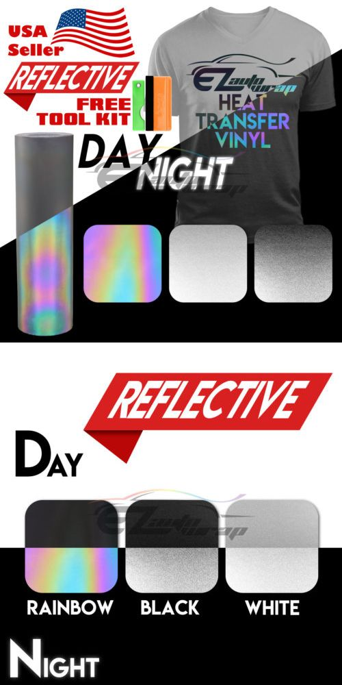 Scrapbooking And Paper Crafts 11788 Reflective Heat Transfer Vinyl Htv T Shirt 20 Wide Roll Iron On Heat Heat Transfer Vinyl Shirts Heat Transfer Vinyl Vinyl