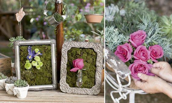 Ideias para arranjos de flor