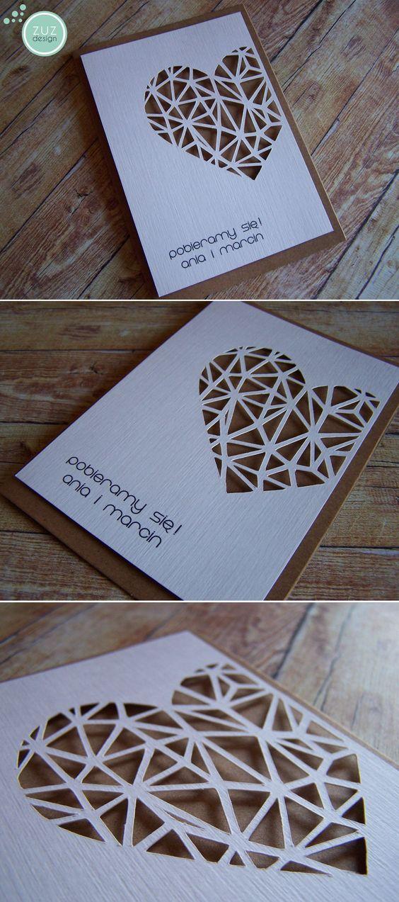 Zaproszenia ślubne. www.facebook.com/zuzdesign/