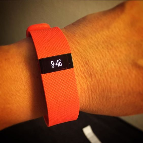 The tangerine ChargeHR IS HERE! Buy now Fitbit.com/store #findyourfit by fitbiteurope