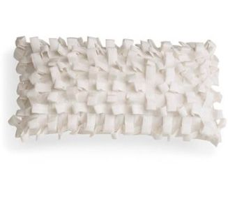 "Large ""Porcupine"" Loop  Texture Silk Cushion"