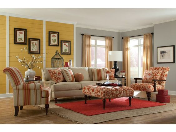 Paula Deen By Craftmaster Living Room Sofa P734350BD   Tyndall Furniture  Galleries, INC   Charlotte, Mooresville, Pineville NC And Fort Mill, SC |  Pinterest ...