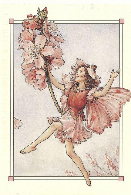 Cicely Mary Barker - The Almond Blossom Fairy