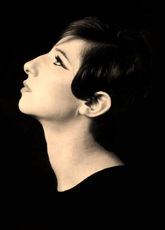 """Barbra Streisand ~ """"I arrived in Hollywood without having my nose fixed, my teeth capped, or my name changed. That is very gratifying to me."""": Babara Streisand, Barbara Streisand, Cute Pet, Convex Profile, Funny Girls, Barbra Streisand S, Streisand Profile"""