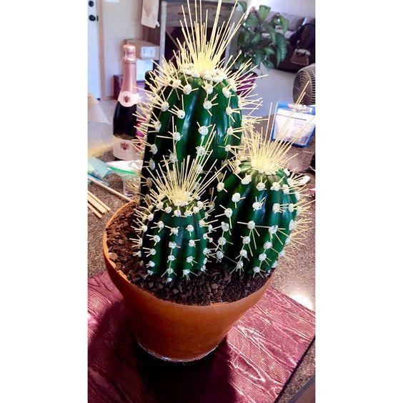 Ashley's cactus cake