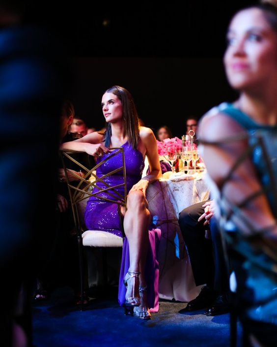 Pin for Later: 28 Fashion Moments From the CFDA Awards You Just Can't Miss Alessandra Ambrosio Showing How to Chill in a Gown