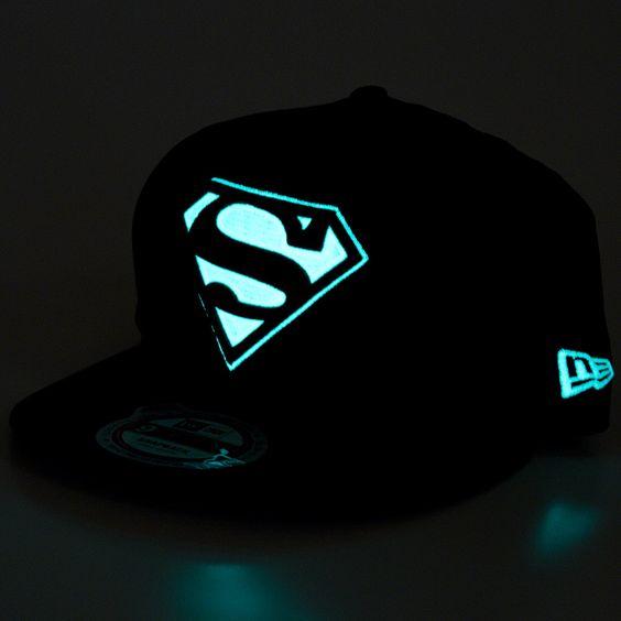 New Era Glow in the Dark Cap Superman