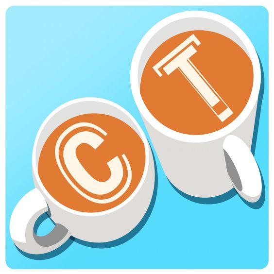 'Coffee Talk' concept Logo 6  #logos #branding #coffee #design #conceptdesign #latteart #logo #fishjoy