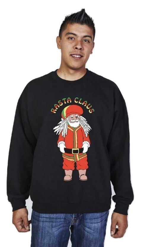 Ugly Christmas Sweater Funny Christmas Sweatshirt Snowtorious