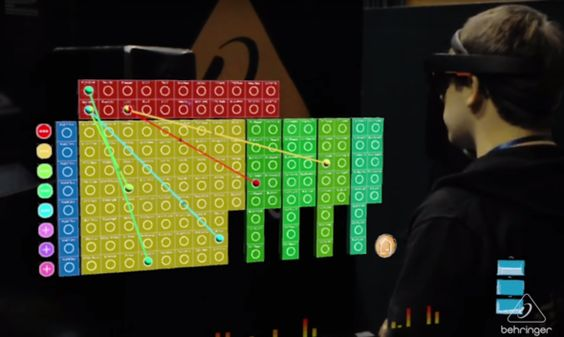 Behringer DeepMind 12 Augmented Reality Interface (Bild: YouTube / BEHRINGER)