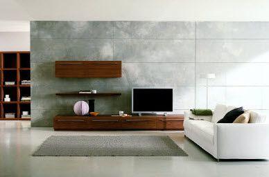 テレビボード ウォール 壁面 コーディネート例 モダン