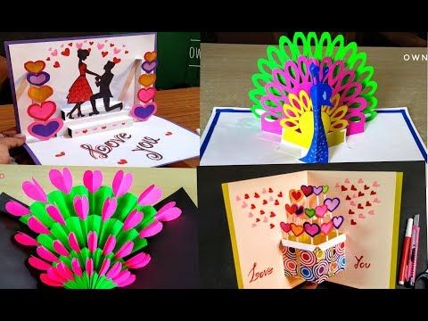 Diy Pop Up Card Diy Card For Father S Day Father S Day Card Idea Birthday Day Card Youtube Pop Up Cards Birthday Cards Diy Diy Cards