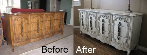 Refinish furniture: Furniture Makeover, Diy Furniture, Diy Crafts, Refinished Dresser, Dollar Store Crafts, Crafty Crafty, Furniture Ideas, Dresser Credenza, Furniture Info