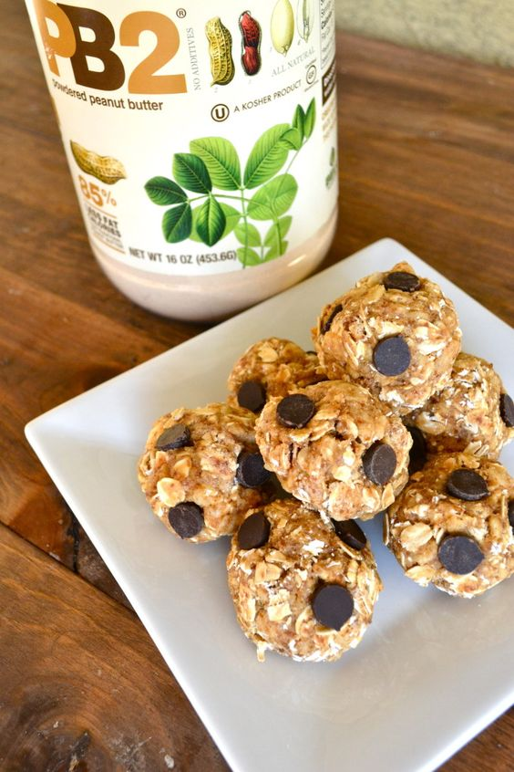 PB2 Protein Power Balls - Filled with good nutrients and they are so tasty. Perfect for a pre-workout snack!