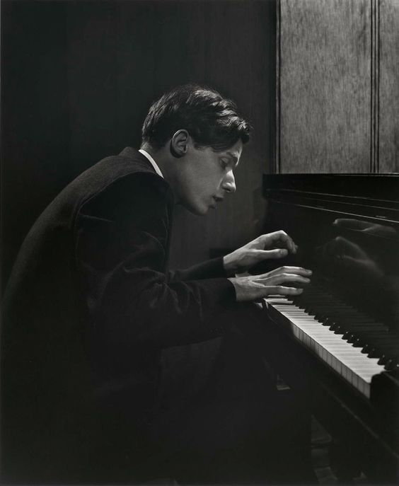"""The justification of art is the internal combustion it ignites in the hearts of men and not its shallow, externalized, public manifestations. The purpose of art is not the release of momentary ejection of adrenaline but is, rather, the gradual, lifelong construction of a state of wonder and serenity.""  ― Glenn Gould ~ Glenn Gould, by Yousuf Karsh"