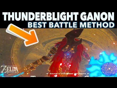 The Easiest Way To Defeat Thunderblight Ganon Zelda Breath