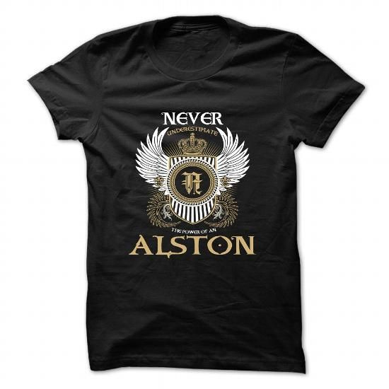 ALSTON - #gifts for boyfriend #hostess gift. ORDER HERE  => https://www.sunfrog.com/Camping/ALSTON-85504178-Guys.html?id=60505