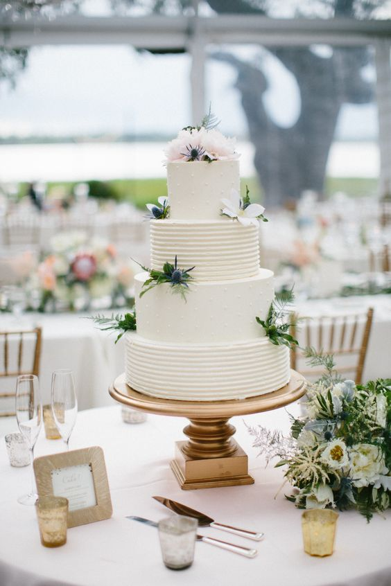 Buttercream Wedding Cake Wedding Cake Photos And Charleston South Carolina On Pinterest