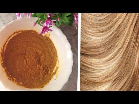 صباغة للشعر طبيعية باللون الاشقر بدون حناء واوكسجين Youtube Beauty Skin Care Routine Beauty Skin Care Beauty Care