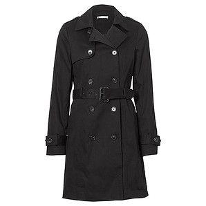 Ladies' Classic Trench Coat - Black – Target Australia