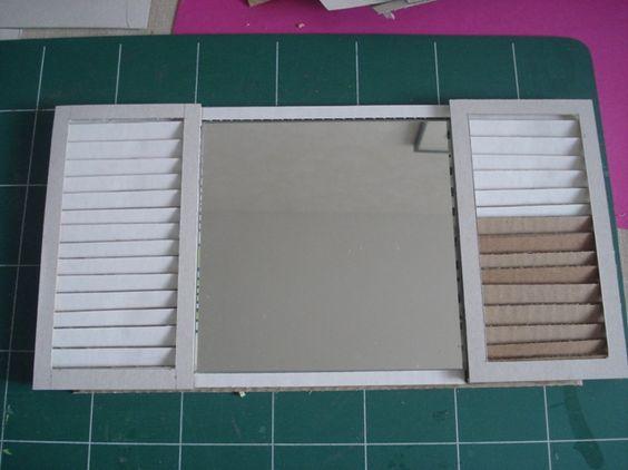 tutoriel cr er un cadre photo en carton femme2decotv. Black Bedroom Furniture Sets. Home Design Ideas
