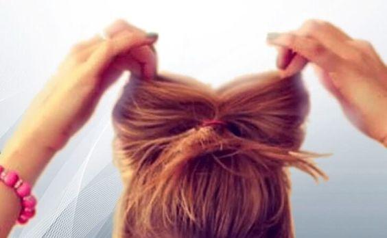 Aprende a realizar peinados con lazos de tu propio cabello | Los Peinados
