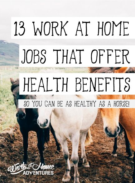 A list of companies that hire work from home agents and offer health benefits.