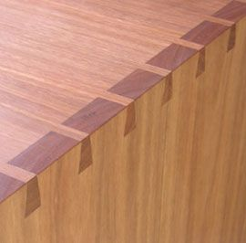 dovetail joint furniture - Google Search