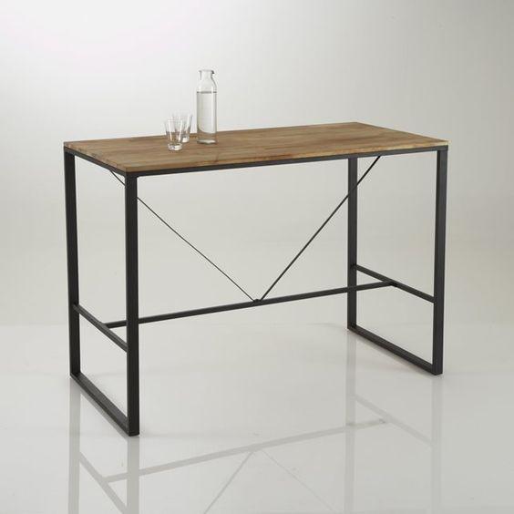mesa bar alta hiba pinteres. Black Bedroom Furniture Sets. Home Design Ideas