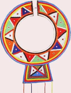 maasai beaded wedding necklace