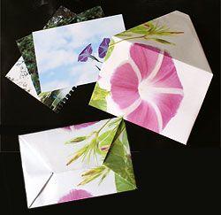 写真を使った折り紙封筒を作ろう [CG・画像加工] All About