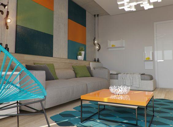 Яркая квартира в современном стиле / Дизайн-студия Ruslan Kovalchuk