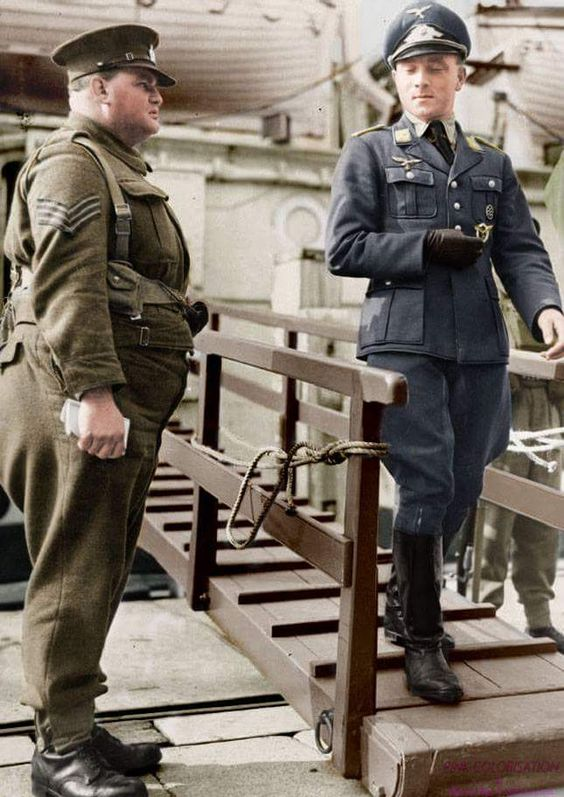 Luftwaffe member you look so good