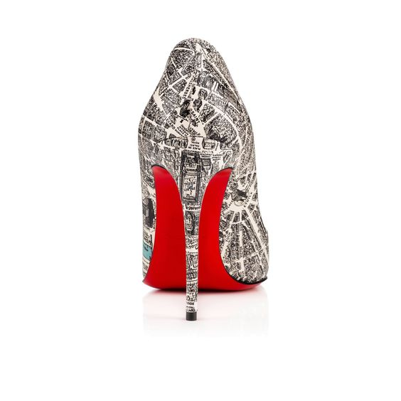 Shoes - Pigalle Follies Plan De Paris - Christian Louboutin: