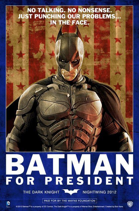 Batman For President Mindshots Mindscomics Find It A Home