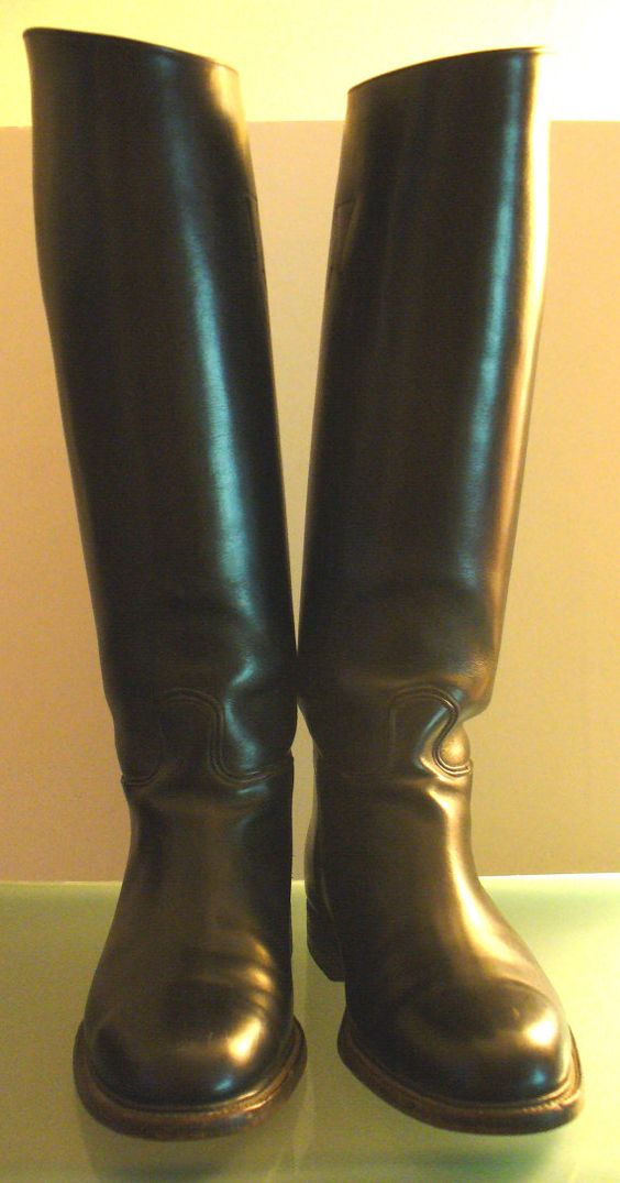 Vintage Dehner's Custom Made Men's Riding Boots | Riding boots ...