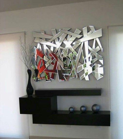 Repisas Modernas Para Salas Con Espejo