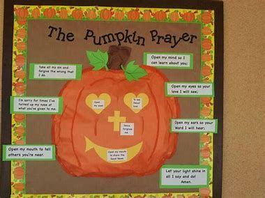 Image Result For Free Printable Christian Fall Bulletin Board Ideas Boards Halloween Church