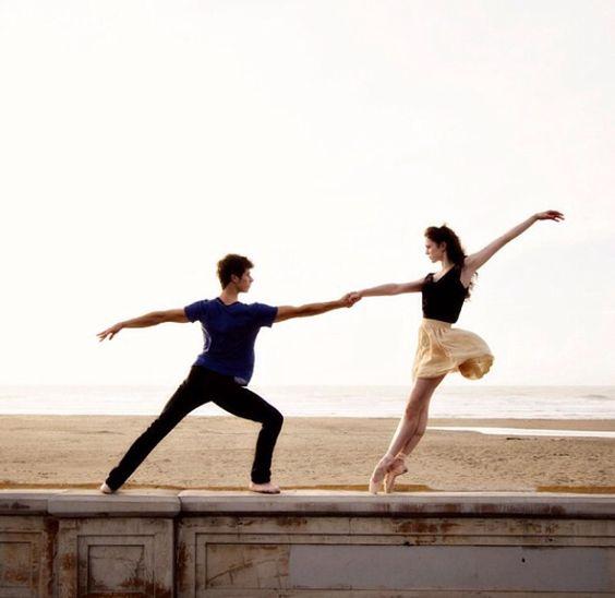beautiful partner pose #beautifulballet