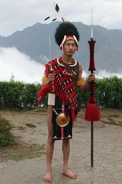 India - Nagaland | Phom Naga. |  © Walter Callens
