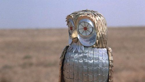 The robot owl from Clash of the Titans...