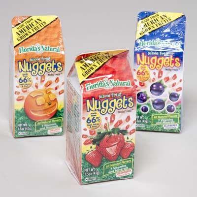 fruit juice nuggets - florida Case of 72