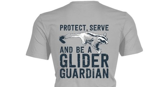 Check out this awesome Protect, Serve, Glider Guardian shirt!