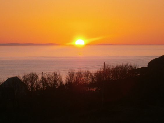 Sunset, mellon Charles.