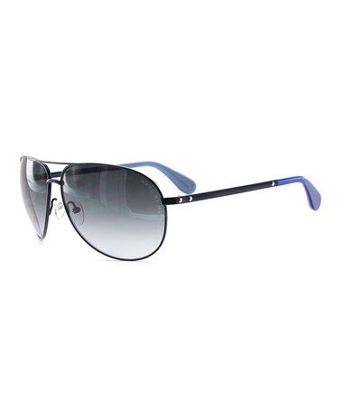 discount sunglasses  Marc by Marc Jacobs Blue Aviator Sunglasses