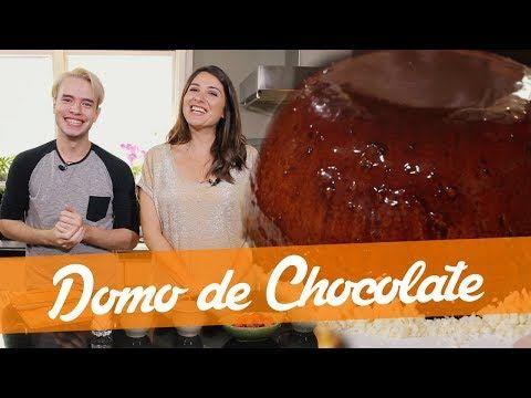 Domo De Chocolate Receita Do Bake Off Brasil Youtube