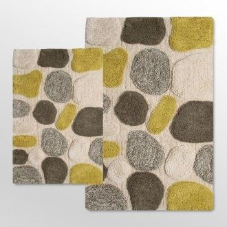 Bathroom Rug Yellow And Grey Bathroom Rugs : Bath Rugs Yellow Grey |