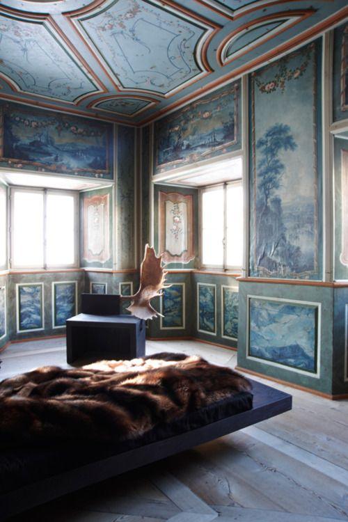 Une gigantesque toile des murs aux d cors de r ve comme - Interieur design loft futuriste rado rick ...