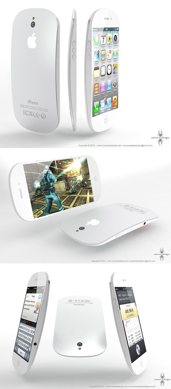 Could the iPhone 5 look like this? (Concept by Federico Ciccarese)